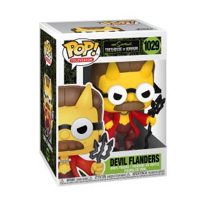 Funko POP Animation: Simpsons- Devil Flanders (1029)