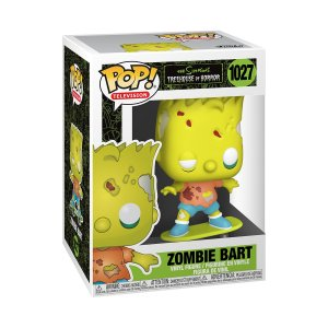 Funko POP Animation: Simpsons- Zombie Bart (1027)