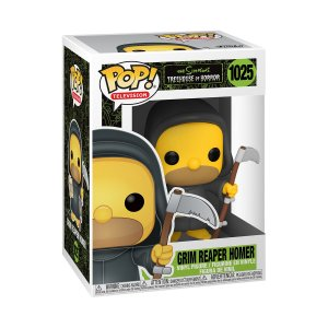 Funko POP Animation: Simpsons- Reaper Homer (1029)