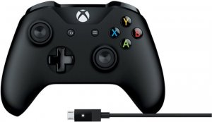 Microsoft Xbox One Gamepad + kabel pro Windows (XONE/PC)