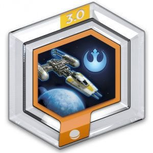 Power Disc Y Wing Starfighter Disney Infnity 3.0