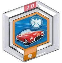 Power Disc Agent Coulsons Lola Disney Infinity 2.0