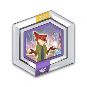 Power Disc Disney Infninty 3.0 Zootopia - Nick Wilde