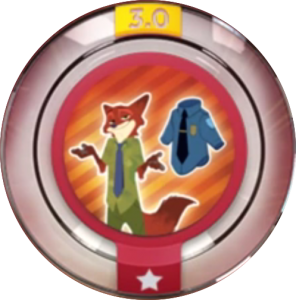 Power Disc Disney Infninty 3.0 Zootopia - Officer Wilde
